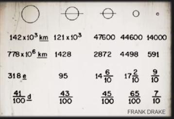 Solar system parameters 6