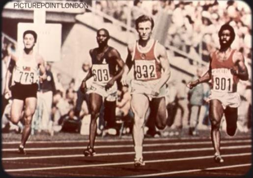 Sprinters (Valeriy Borzov of the U.S.S.R. in lead) 72
