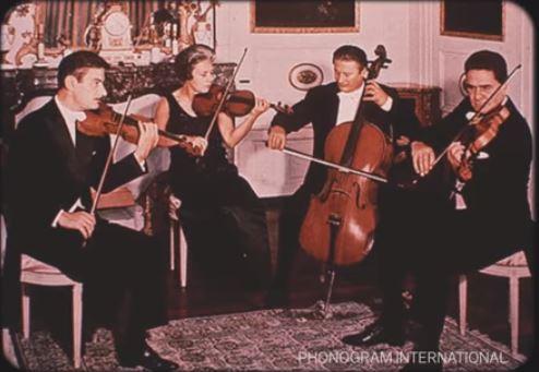 String Quartet (Quartetto Italiano) 115